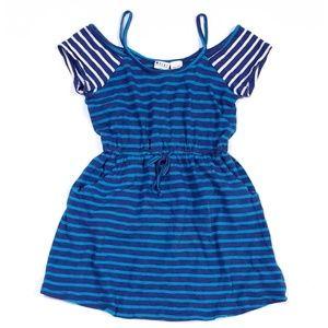 Roxy Girl Blue Stripe Dress